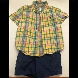 Ralph Lauren 18 month matching outfit